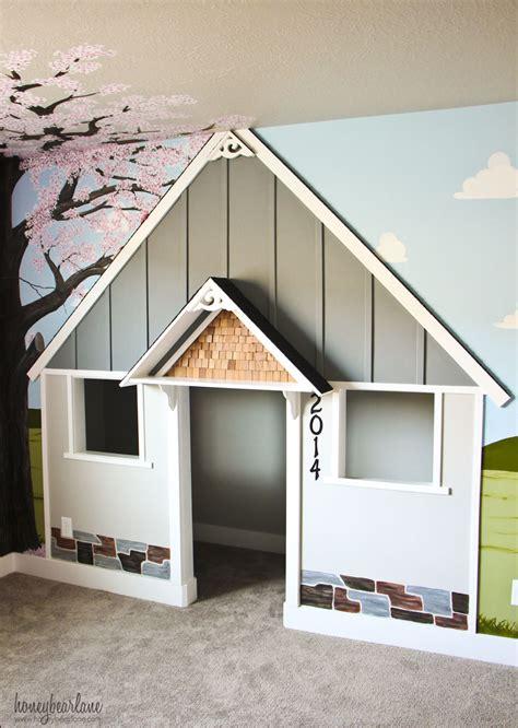built  indoor playhouse honeybear lane