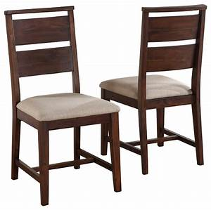 Portland Solid Wood Dining Chairs, Set of 2 - Transitional