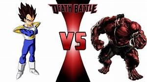 Vegeta vs Red Hulk | Death Battle Fanon Wiki | FANDOM ...