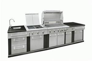 Meuble Pour Plancha : meuble cuisine exterieur inox ~ Melissatoandfro.com Idées de Décoration