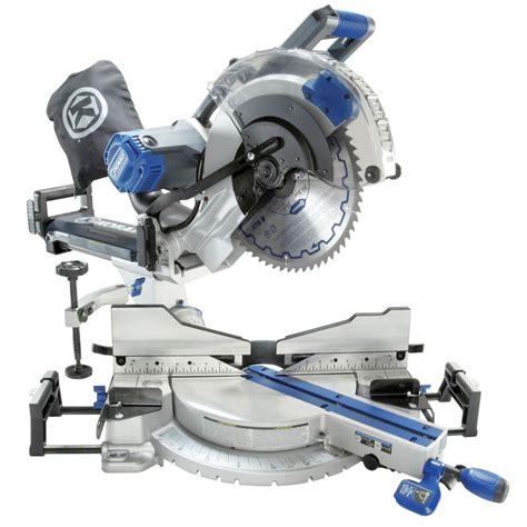 Shop Kobalt 12in 15amp Dual Bevel Sliding Laser Compound