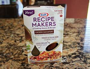Crock Pot Chicken Cacciatore (Kraft Recipe Makers)