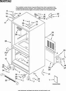 Maytag Refrigerator Mfd2562vea10 User Guide