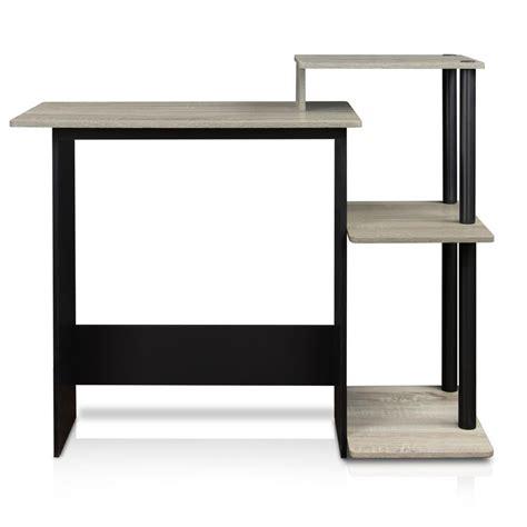 black desk with shelves walker edison furniture company home office black desk