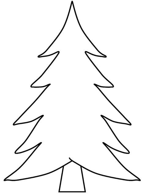 mewarnai gambar pohon cemara untuk anak