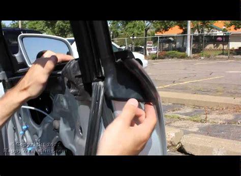 audi  window regulator replacement removal