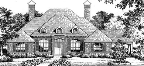 House Plan 54815 Mediterranean Style with 4155 Sq Ft 3