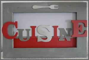 Cadre Pour Cuisine : tableau l 39 atelier de viline ~ Teatrodelosmanantiales.com Idées de Décoration