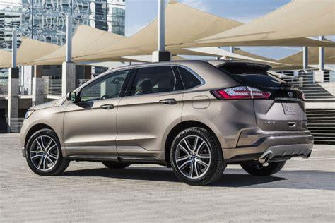 ford edge titanium release date for the 2019 ford edge titanium elite