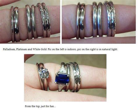 palladium vs platinum wedding rings wedding
