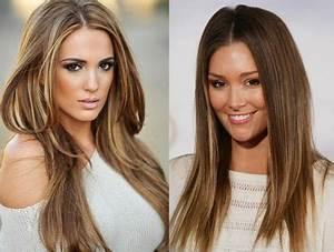Braune Haare Mit Highlights : braune haare mit blonden str hnen ~ Frokenaadalensverden.com Haus und Dekorationen