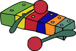 Cartoon Xylophone Clip Art
