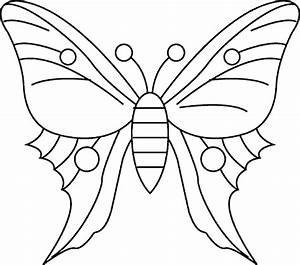 Malvorlagen Schmetterling