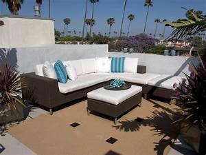 salon de jardin pas cher 40 super idees pour votre With tapis exterieur avec canapé mobilier