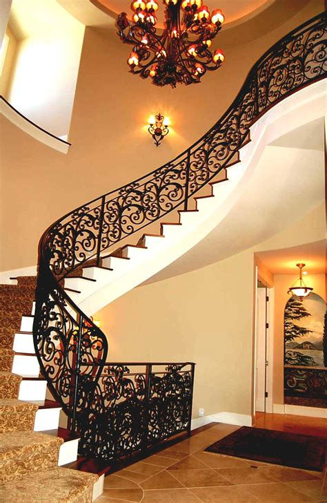 beautiful staircase design gallery   kerala home