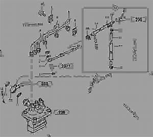 Fuel Circuit   Injection Pump - Excavators Volvo Ec25