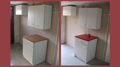 table de cuisine en stratifié repeindre ses meubles de cuisine