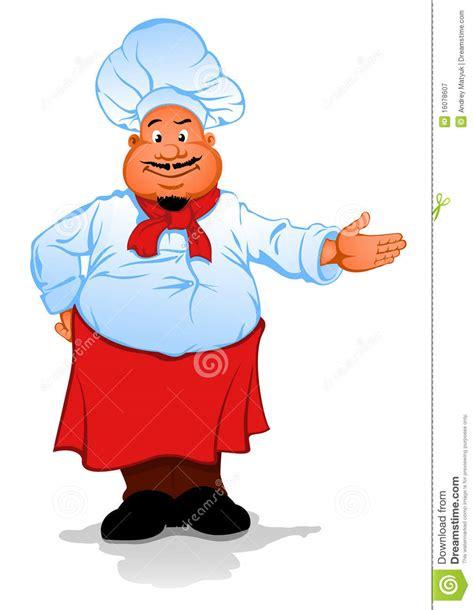 gros cuisinier de chef photographie stock libre de droits image 16078607