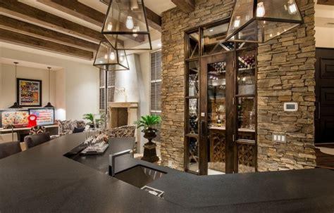 couleur cuisine salon air ouverte déco maison bois et