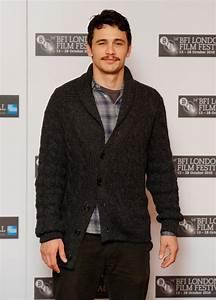 James Franco Cardigan - James Franco Tops Looks - StyleBistro