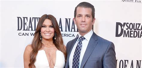 trump donald guilfoyle jr kimberly girlfriend age together christmas lago mar president sons spend ivanka son jrs relationships shannon finney