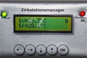 Zirkulationspumpe Für Warmwasser : steuerung der warmwasser zirkulationspumpe ~ Articles-book.com Haus und Dekorationen
