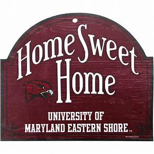 Maryland Eastern Shore Hawks 10'' x 11'' Tier Wood Sign