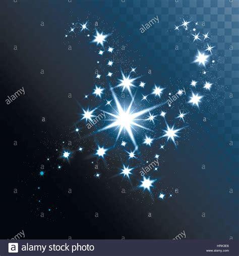 Tapete Leuchtende Sterne by Vektor Leuchtende Sterne Leuchtet Und Funkelt