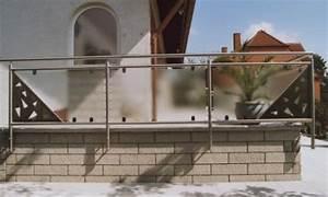 Milchglas Für Balkon : sonstiges sichtschutzelement seitlich an einer terrasse mit edelstahllochblech und glas ~ Markanthonyermac.com Haus und Dekorationen