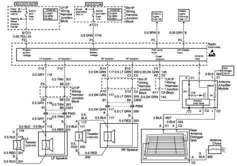 2004 olds alero stereo wiring diagram wiring diagrams