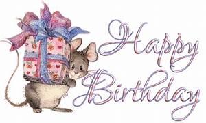 Happy Birthday Maus : bon anniversaire gifs animes page 34 ~ Buech-reservation.com Haus und Dekorationen