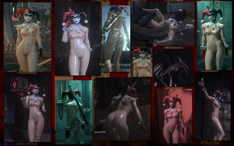 mod arkham knight classic harley quinn nude 3 versions adult gaming loverslab