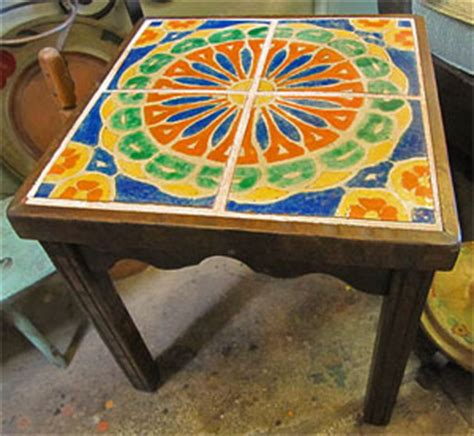 mexican tile coffee table the bungalow store monterey