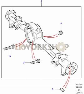 Rear Axle Case Assembly - Rover Type  90  110