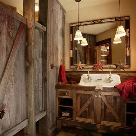 copper apron sink cool rustic bathroom ideas for your home