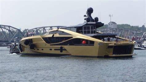 palmer johnson yachts unveiled  golden  supersport
