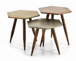 Table Basse Cuivre Rose : table basse en bois de rose d 39 inde cuivre ~ Melissatoandfro.com Idées de Décoration
