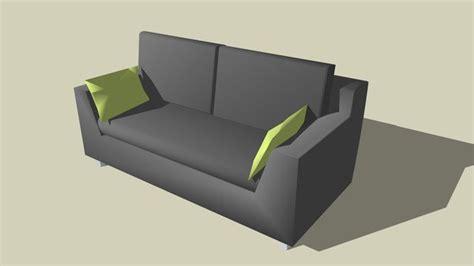 sketchup components  warehouse axis sofa sketchup