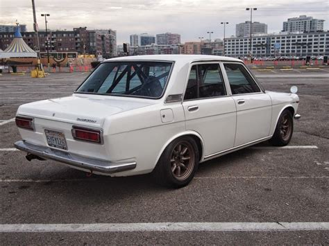 Datsun 510 Build by Pitch Impressive 1972 Datsun 510 Road Track