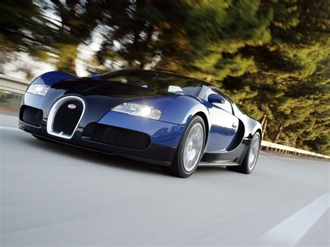 Bugatti Veyron Cars Fastest Production Car In