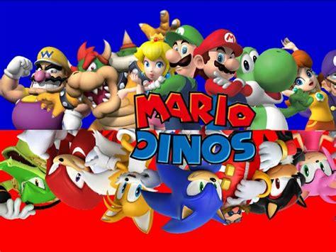 Mario and Luigi vs Sonic