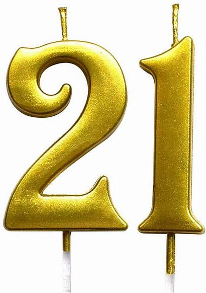 Yellow Block Clipart Number Numbers Glitter 21st
