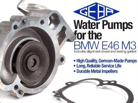 Ecs News  Bmw E46 M3 Geba Water Pump