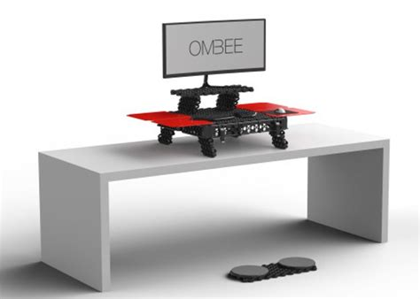 switch stance portable standing desk ombee portable modular standing desk video geeky gadgets