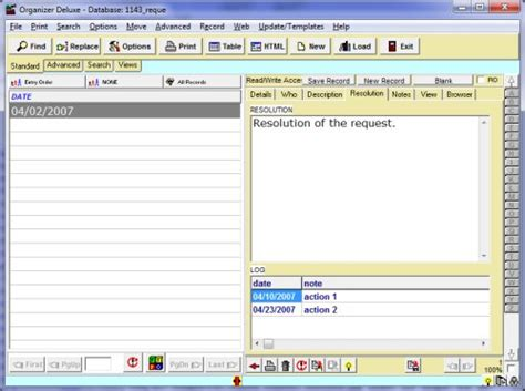 complaints tracking template software