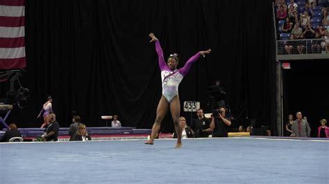 simone biles floor exercise  pg gymnastics