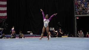 Simone biles floor exercise 2016 pg gymnastics cha for Indian gymnastics floor music
