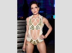 Halsey leaves little to the imagination on MTV Movie