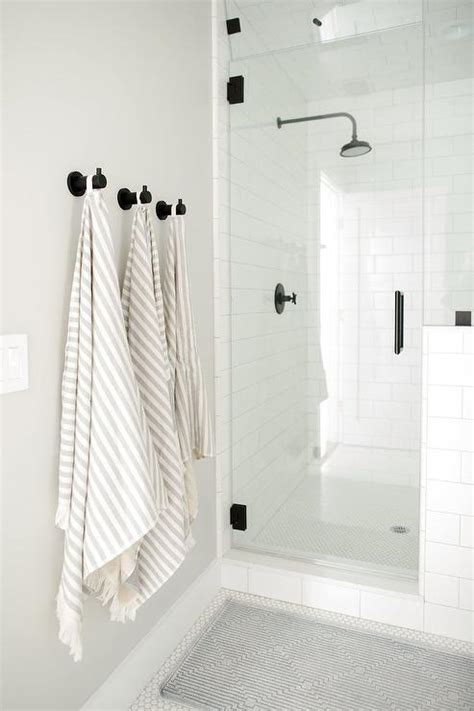 shower niche transitional bathroom style  home