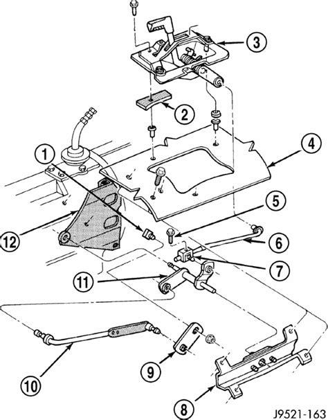 wrangler automatic transmissionwdthe linkage